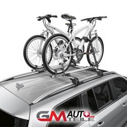 Fahrradträger New Alustyle Original Merce des-Benz silb erschwarz
