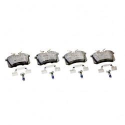 Bremsbeläge vorne mit Verschleissanzeige für 280x22 mm Bremsscheibe
