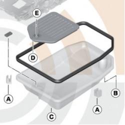 BMW Ölfilterkit Automatikgetriebe 7er E65 X3 E83 X5 E53 X6 E71