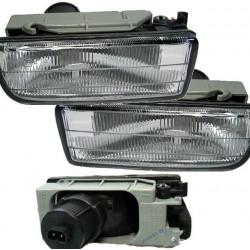 BMW E36 OEM Nebelscheinwerfer Set Weiß geriffelt Bj 91-99