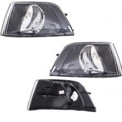 Set Volvo V40-S40 Blinkleuchte Blinker schwarz Bj 00-04 ohne Lampenträger