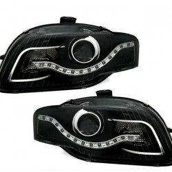 Audi A4 8E B7 Scheinwerfer CCFL Black mit LED Standlicht 04-08