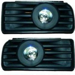 BMW E36 Nebelscheinwerfer Set (DE-Licht) für Baujahr 90-99 (inkl. kompletter Blenden und Halter)