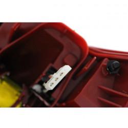 Audi A6 4F LED Rückleuchte links außen Rot-Weiß Bj 03-05-10-08
