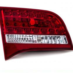 Audi A6 4F2-Avant LED Rückleuchte links rot-weiß inneres teil Bj 08-10