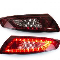 Set Porsche 911 997 LED Rückleuchten Rot-Weiß Klar Bj 04-08-LED Blinker- Tagfahrlicht Bj 04-08
