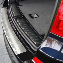 EDELSTAHL (MATT) LADEKANTENSCHUTZ FÜR BMW X3 F25 (NICHT LCI)