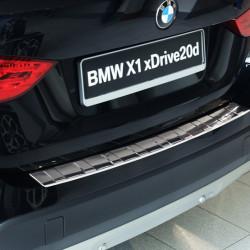 EDELSTAHL LADEKANTENSCHUTZ FÜR BMW X1 E84 AB BJ. 2009-2012