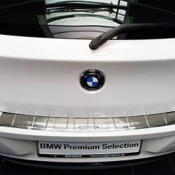 EDELSTAHL LADEKANTENSCHUTZ FÜR BMW 1ER F20 AB BJ. 2011-
