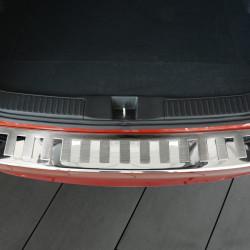 Honda Civic Tourer ab Bj.2014- Edelstahl Ladekantenschutz mit 3D Profil und Abkantung