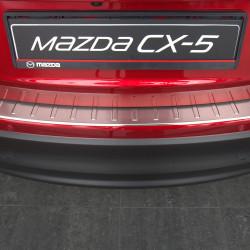 EDELSTAHL LADEKANTENSCHUTZ FÜR MAZDA CX-5 AB BJ. 2012-