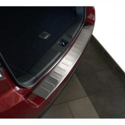 Subaru Forester 3 III (Typ SH) Edelstahl Ladekantenschutz mit 3D Profil und Abkantung