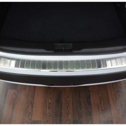 Suzuki SX4 S-Cross ab Bj. 2013- Edelstahl Ladekantenschutz mit 3D Profil und Abkantung