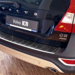 Volvo XC70 ab Bj. 2007-2013 Edelstahl Ladekantenschutz mit 3D Profil und Abkantung