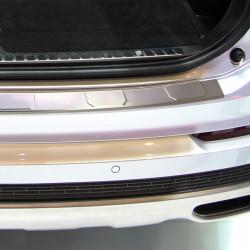 Volvo XC90 2 II ab Bj. 07/2015- Edelstahl Ladekantenschutz mit 3D Profil und Abkantung