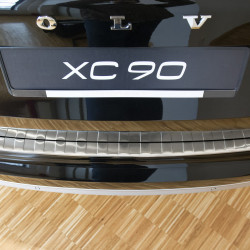 Stainless Steel Bumper Protector for Volvo XC90 II from 2015-