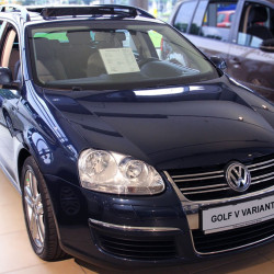 Stainless Steel Bumper Protector for VW Golf 5 Variant 2007-2009