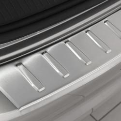 VW GOLF Sportsvan 2014- Ladekantenschutz Alu Satiniert mit 3D Profil und Abkantung