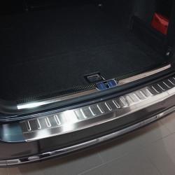 VW Passat B7 2010-2014 Alu Ladekantenschutz Satiniert mit 3D Profil und Abkantung