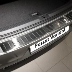 VW Passat B6 3C Bj. 2005-2010 Edelstahl Einstiegsleisten + Ladekantenschutz Set