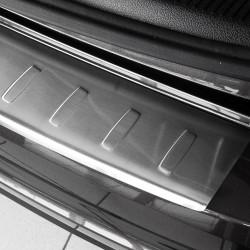 VW Sharan 2 II / Alhambra 2 II 2010- 3D Alu Satiniert Ladekantenschutz für mit Abkantung